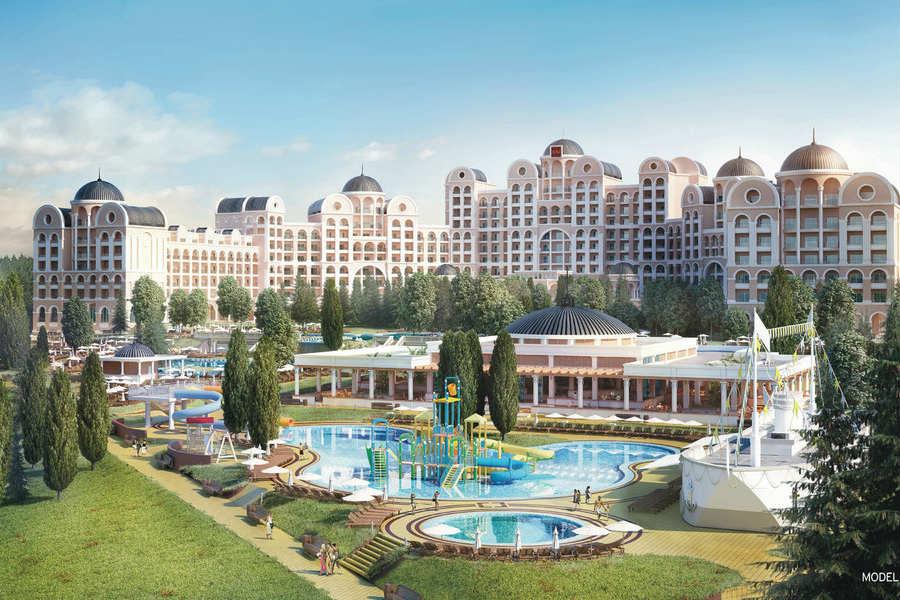готель Riu Helios Paradise  4* Сонячний Беріг Болгарія